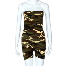 Free Ostrich Women Fashion Camouflage Print Jumpsuits Rompers Short Sleeveless Rompers Overalls Summer Playsuits Rompers D1135 cheap Polyester Jumpsuits Rompers Sexy Club NONE Broadcloth REGULAR Bodysuits bodysuit women Drop Shipping Wholesales Pls contact with us if in bulk order