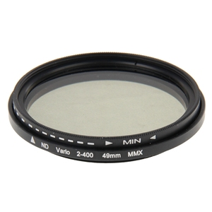 Image 2 - 49mm ND Filter Fader Neutral Density Einstellbare ND2 zu ND400 Variable Filter