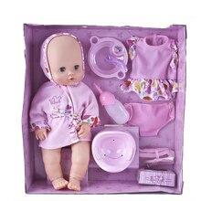 Bébé silicone reborn poupée jouets set pour filles simulation bébé né interactive les bébés nés accessoires bjd poupée cadeau bonecas