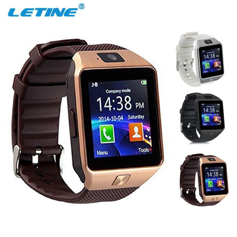 LETINE DZ09 DZ 09 Männer Smart Watch Phone Wearable Gerät Smartwatch für Bluetooth Verbinden Android Apple iPhone Amazfit PK GT08 A1