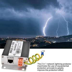 Surge-Protection-Device Lightning Portector 220V Network-Power-Supply Thunder-Arrester