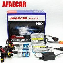 AFAECAR DHL FedEx UPS Бесплатная доставка H11 H7 9005 HB3 HB4 9006 H1 H3 автомобиль 55 Вт Ксеноновые свет