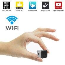 Mini cámara de vídeo SQ13 HD con WIFI, 1080P, Sensor de visión nocturna, videocámara, microcámaras, grabadora de movimiento DVR, SQ 13
