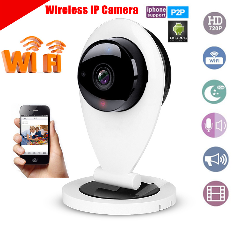 Hot selling IP Camera WiFi 720P Wireless Camara Video Surveillance HD IR Night Vision Security Camera CCTV System ip camera wifi 720p onvif wireless camara video surveillance hd ir cut night vision mini outdoor security camera cctv system
