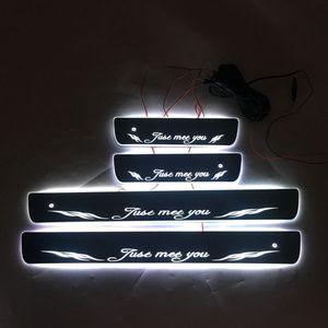 Image 4 - 4PCS/ישים כדי ix35 הזרמת צבע LED מנורת אדני דלת דוושה מוזמן/דינמי תאורת רכב סף עבור HYUNDAIIX35