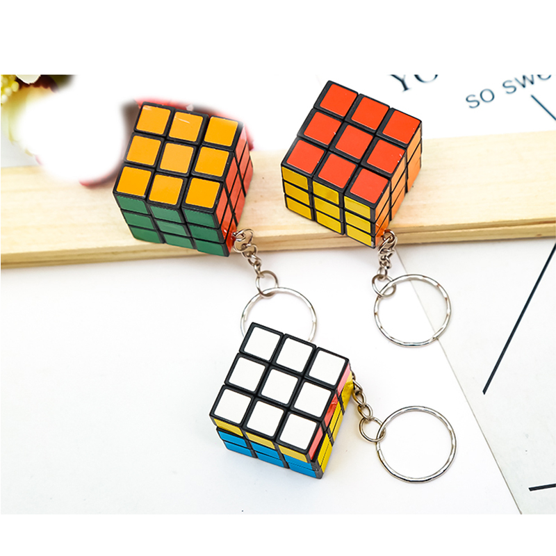 Mini 3x3x3 Profissional Magic Cube Competition Speed Puzzle Cubes Toys For Children Kids Cubo Magico No Sticker Rainbow-10