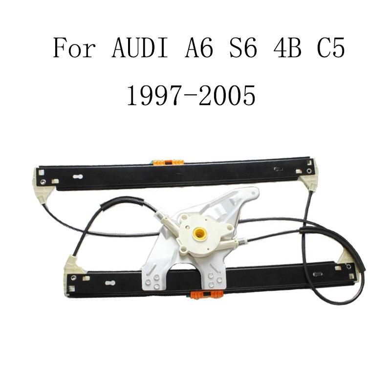 Pro AUDI A6 S6 4B C5 1997-2005 Elektricky ovládaná okna, okna řidiče, výměna okenního zvedáku, levá přední 4B0837461