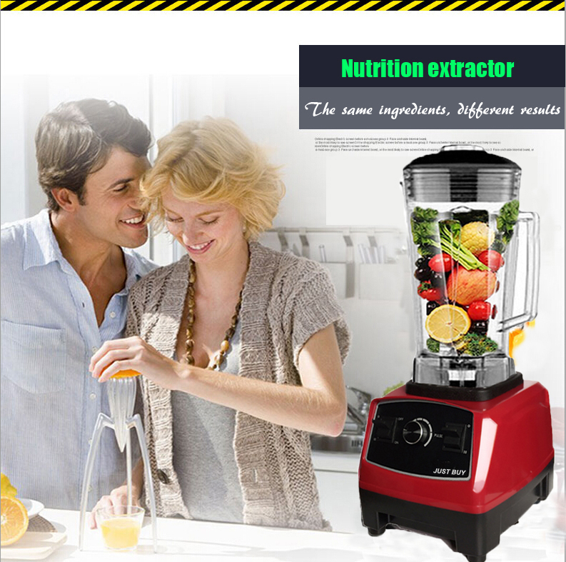 US/EU  Quality G5200 BPA FREE 3HP 2200W Heavy Duty Commercial blender Juicer Ice Smoothie Professional Processor Mixer