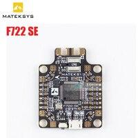 Nuovo Sistema di Matek F722-SE F7 Dual Gryo Controllore di Volo Built-In PDB OSD 5 V/2A BEC Sensore di Corrente per FPV RC Racing Drone parti