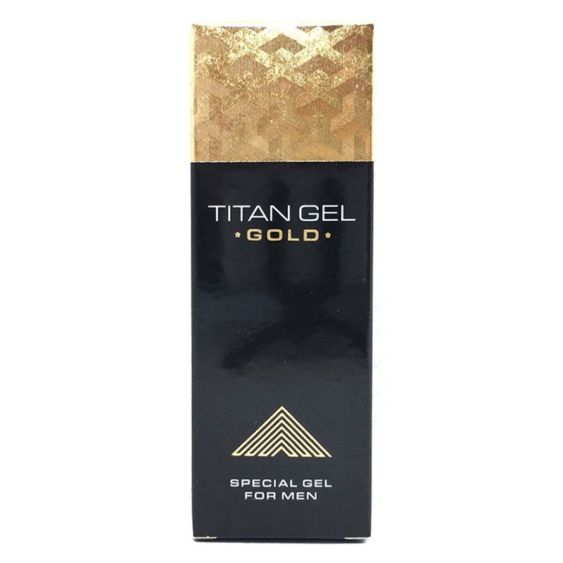 Russian Titan Gel Gold Intimate Gel Sex Products for Adults Increased Male Potency Penis Enlargement Cream Big Dick Enhancer