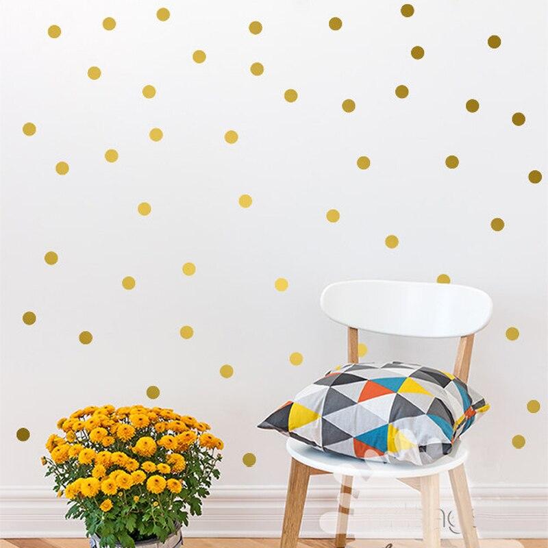 Polka-Dots-Wall-Decal-Removable-140-Small-Polka-Dots-DIY-Nursery-Kids-Wall-Art-Decoration-baby (2)