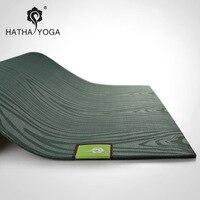 Натуральный каучук, расширяющийся [Влажная и сухая Нескользящая] Коврик для йоги, более экологичный нескользящий коврик для йоги