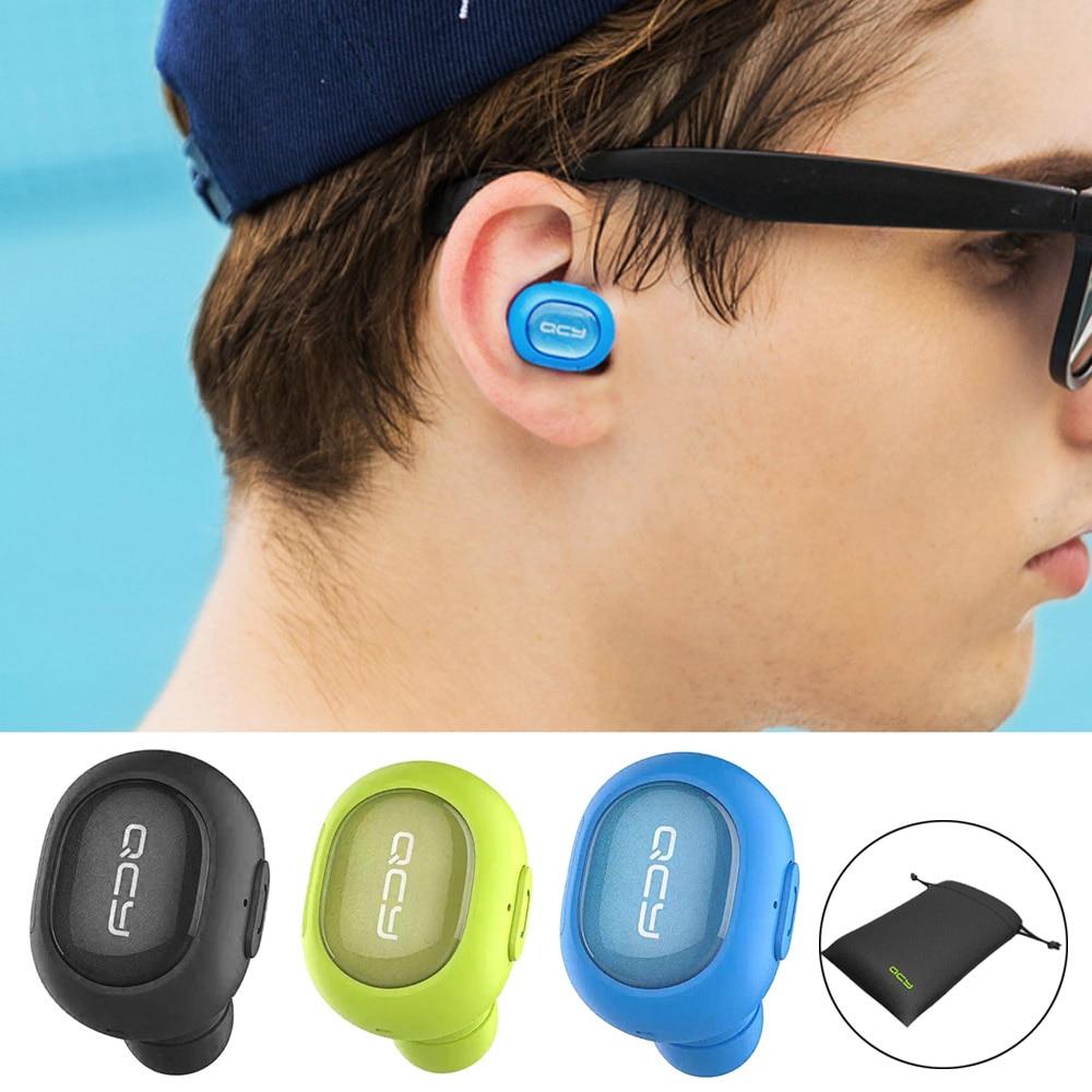Vococal Mini Wireless Bluetooth In Ear Sport Earphone Headphone Earpods Apple Handsfree Iphone 5 Rainbow Colours Headset With Storage Bag For 6s 6 S Samsung Galaxy S7 7usd 1079 Piece