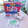 Соответствующие Письма Правописание Соответствовать его написание английские слова Обучения Детей Развивающие Игрушки puzzle игрушки настольная игра для детей