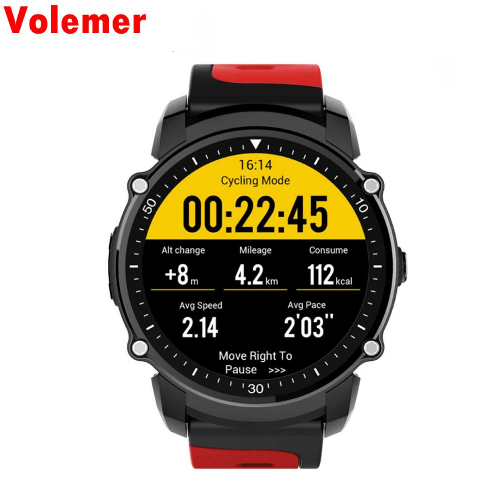 Volemer Smart Watch Waterproof IP68 FS08 Smartwatch Support Heart Rate Monitor Bluetooth Wristwatch For Apple Huawei IOS Android smart watch smartwatch dm368 1 39 amoled display quad core bluetooth4 heart rate monitor wristwatch ios android phones pk k8