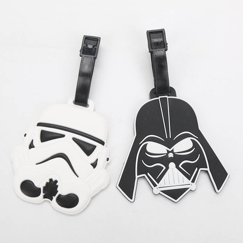Star Wars Luggage Tags Stormtrooper and Darth Vader