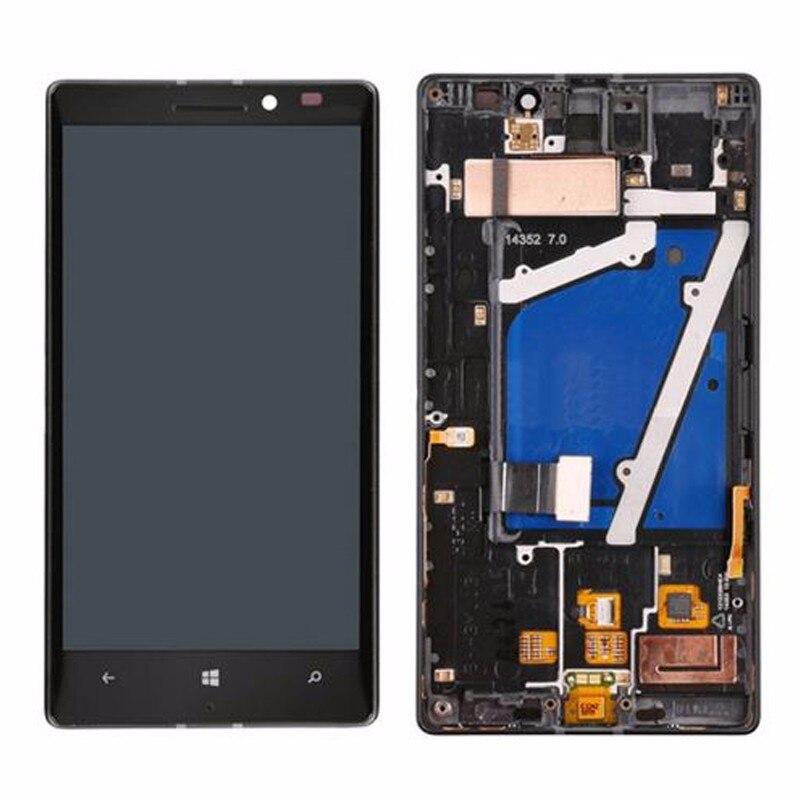 imágenes para Para Nokia Lumia 930 Pantalla LCD + Pantalla Táctil Digitalizador Asamblea Con marco Libre Del Envío