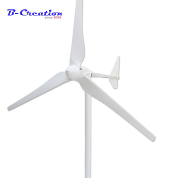 ¡2018 Top Fashion Venta caliente! 2000 W 48 V/96 v/120 V/220 V/380 V uso doméstico molino/ generador de viento, 3 cuchillas, años de garantía para la granja