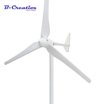 2000 w v/48 v/96 v/120 v/220 v/380 v de soporte de tensión de personalización a casa uso de molino de viento generador 3 hojas de años de garantía para la granja