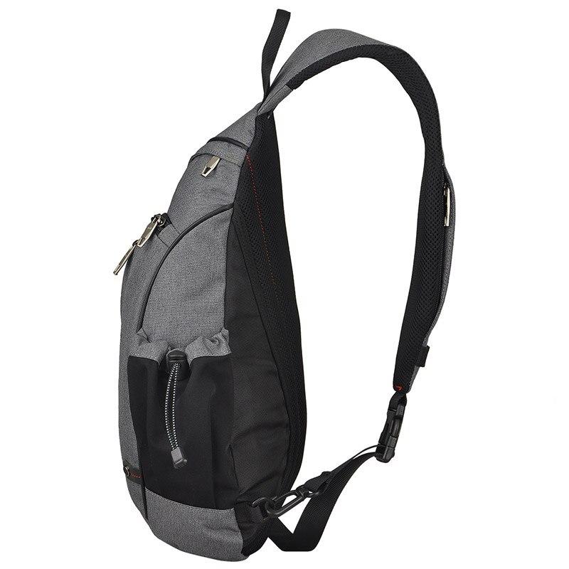 Image 4 - Mixi Men Sling Backpack One Shoulder Bag Boys Student School Bag University Work Travel Versatile 2019 Fashion New Design M5225Backpacks   -