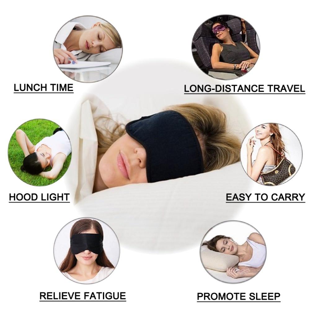 Запълнена чиста коприна EyeShade Спящата - Здравеопазване - Снимка 4