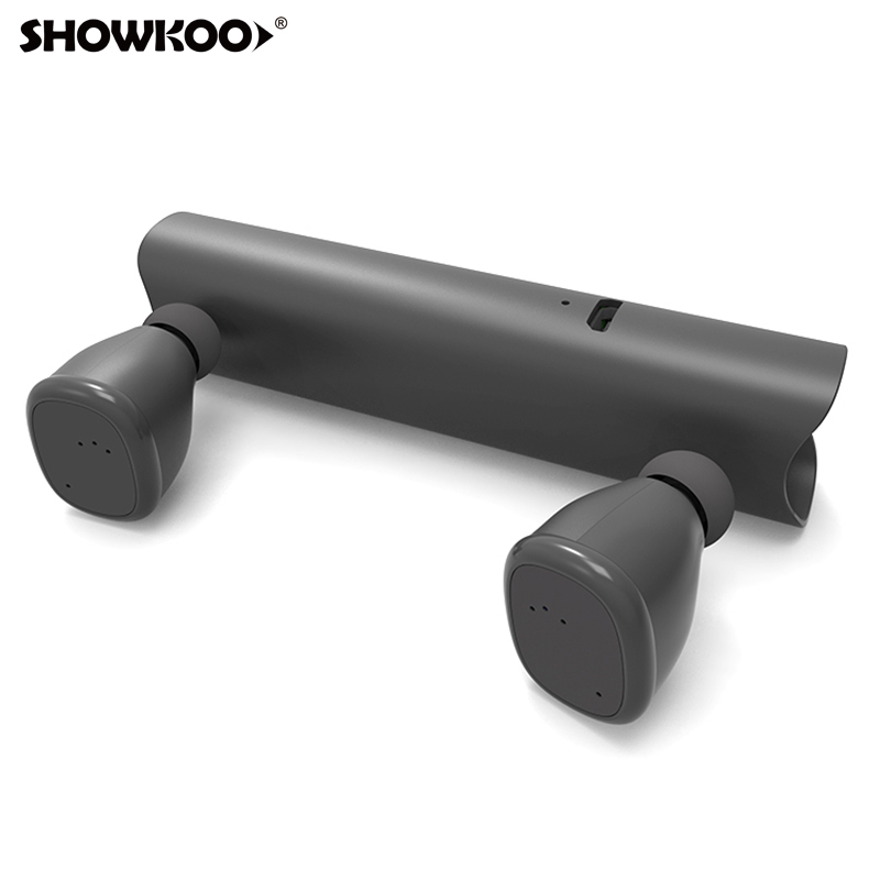 Showkoo Newest Bluetooth 5.0 Automatic Connection Headphone For Samsung Galaxy S9 S8 Note 8/9 Tws Mini Wirelss Bluetooth Headset