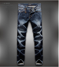 Free shipping brand name  jeans men famous brand and  men jeans leisure denim 28-36