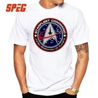 Star Trek T Shirt Man S Funny Short Sleeve Cotton 4XL Round Collar Male Family Tee