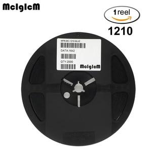 Image 1 - McIgIcM 2000 stücke Freies verschiffen 3528 1210 SMD LED dioden licht Rot gelb grün blau weiß