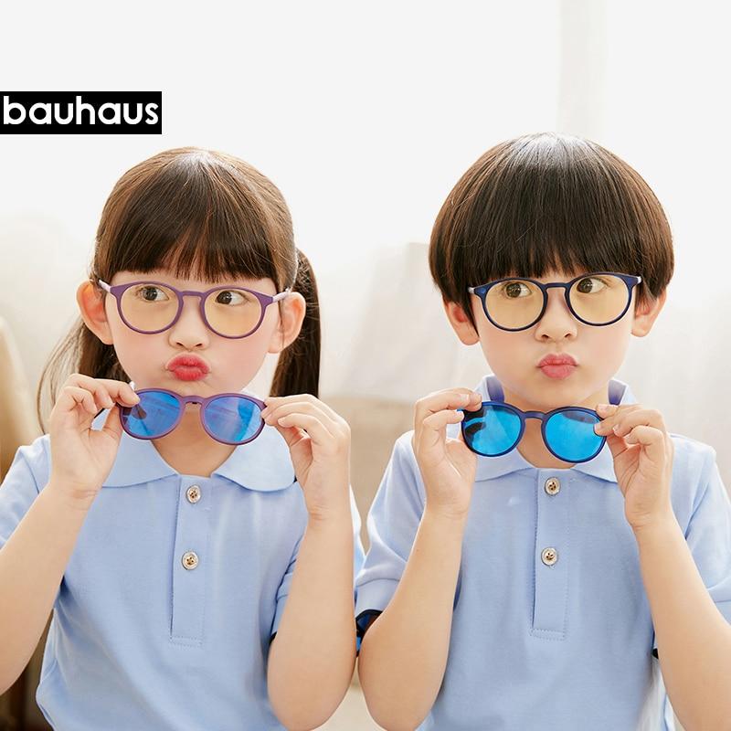 Student Spectacle Frame Children Myopia Prescription Eyeglasses  Sunglasses  anti blue-ray glasses  For  Boys&Girls