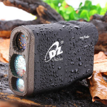 Waterproof 1000m Portable Golf Laser Rangefinder Distance Meter Speed Angel Height Rangefinders with Flagpole Lock Function