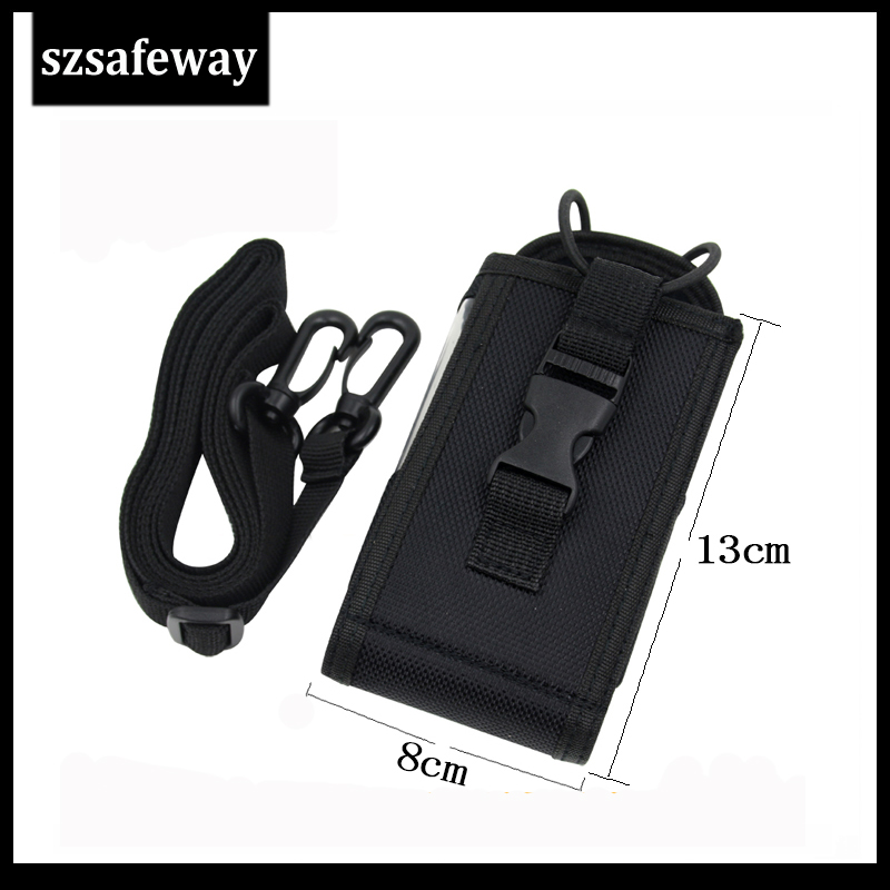 szsafeway MSC-20L NEW Big Size Nylon Carry Case Bag for Motorola GP328 GP338 GP88 GP340 GP3688 MTP850 P8220 <font><b>TK</b></font>-<font><b>3107</b></font> UV-82 image