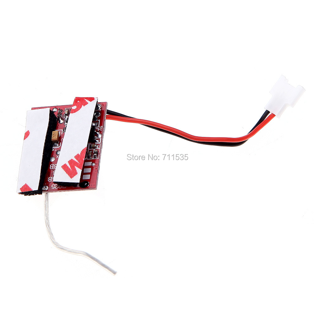 V966 015 Main Board Pcb Box Receiver Spare Parts For Wltoys 6ch Rc Helicopter Cx 20 Circuit Cheerson 3d 24ghz Flybarless Remote Control Rtf In Accessories From Toys