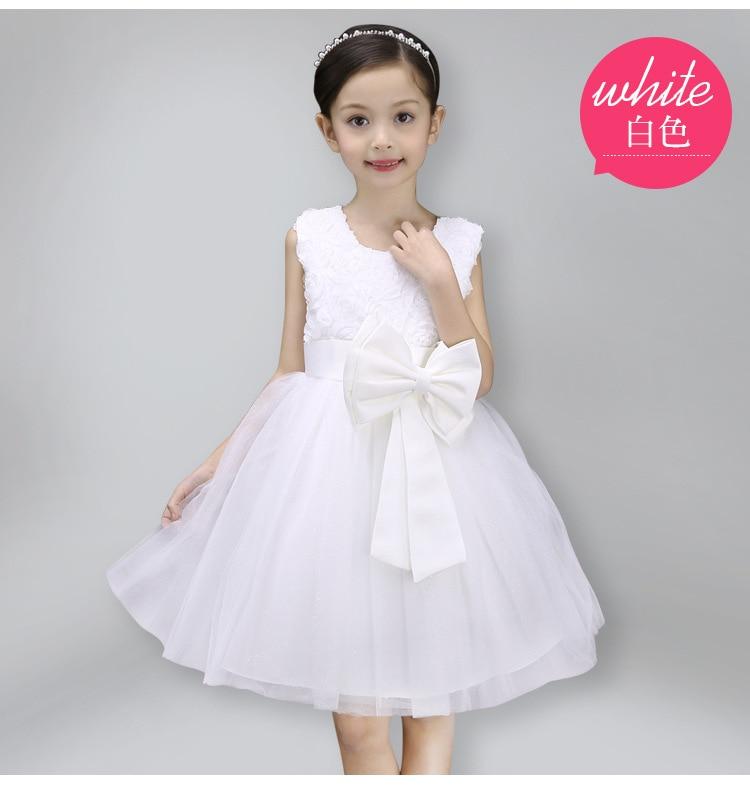 Girls Dress Children Clothing Princess Summer Wedding Party Girls - Ubrania dziecięce - Zdjęcie 1