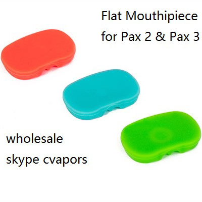 Mouthpiece kit (5 pack - 1 pc black color raised, 4 pcs flat ) 4 colors availabl