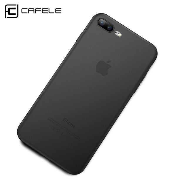CAFELE Original Phone Case for iPhone 8 7 Cases Candy Color Silicone TPU Ultra Thin Fashion Luxury Cover For iphone 8 7 Plus