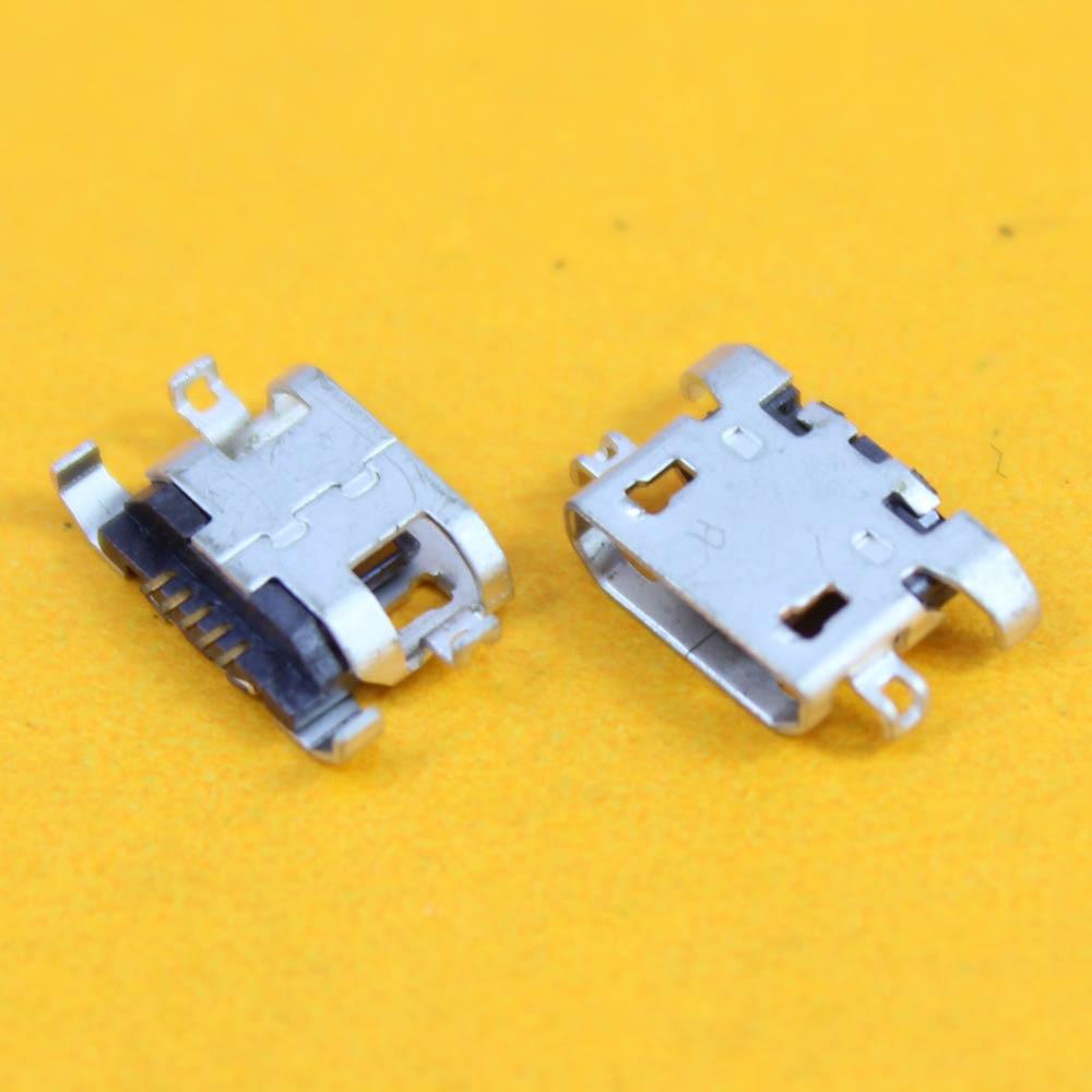 50 шт. Мини Micro USB разъем Мощность зарядки женский Порты и разъёмы Разъем для Lenovo A289 a308t A390T P780 S920 P770 a820 S6000