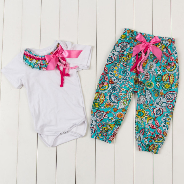 8d820ced3 Vintage Baby Girls Clothing Set Floral Newborn Going Home Outfit ...
