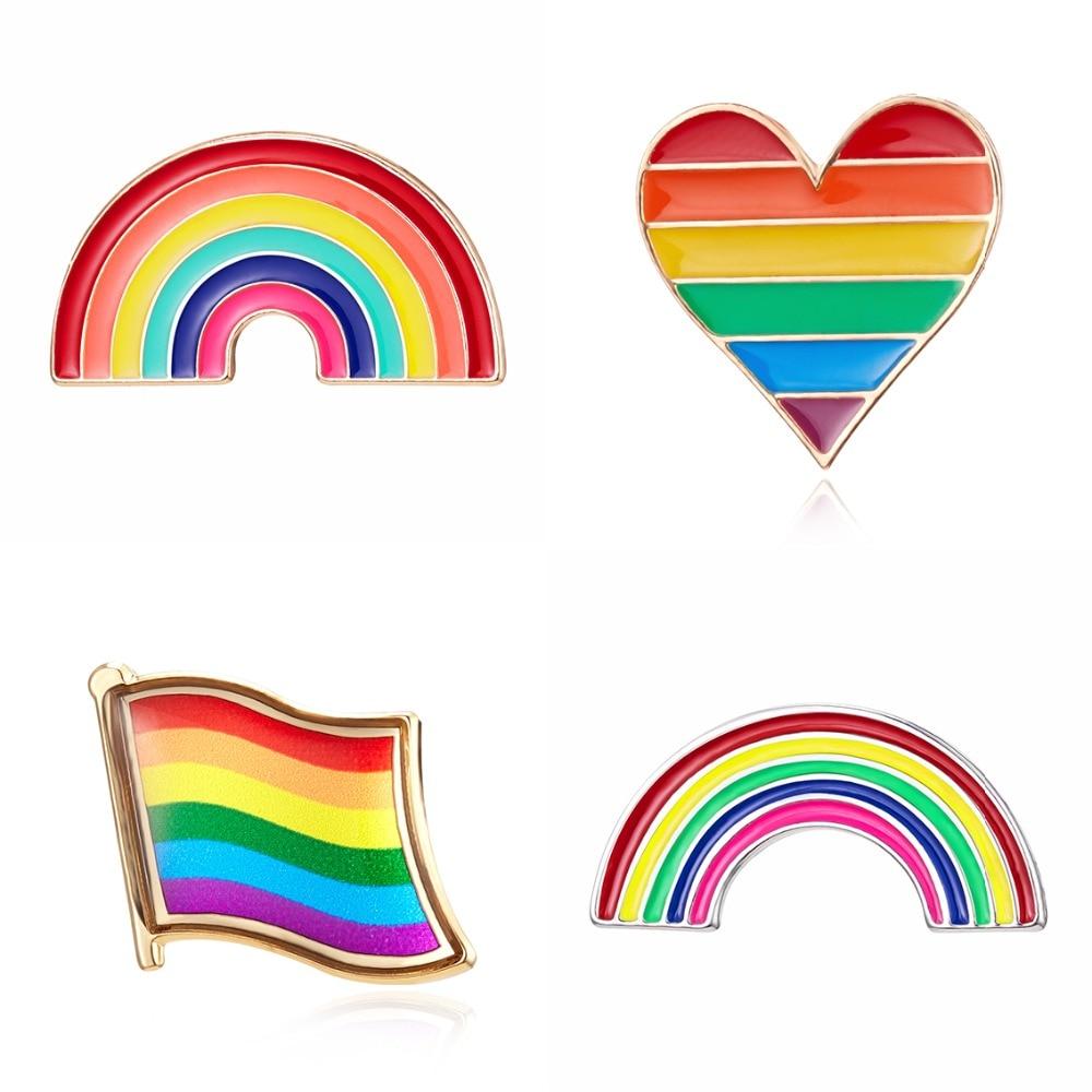 Gay Pride Rainbow distintivi-Festival LGBT Costume Accessori