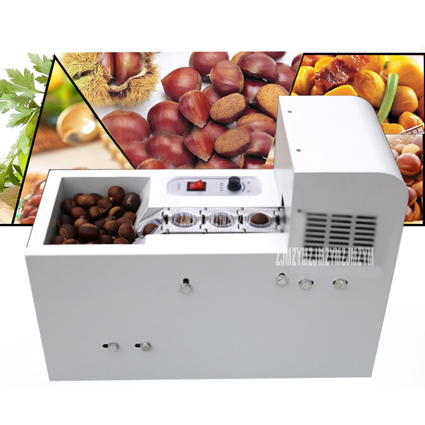 BL-CP-18 Commercial Full-Automatic Chestnut Opening Machine Stainless Steel Cutting Chestnut Machine 135-150kg/h 220VBL-CP-18 Commercial Full-Automatic Chestnut Opening Machine Stainless Steel Cutting Chestnut Machine 135-150kg/h 220V