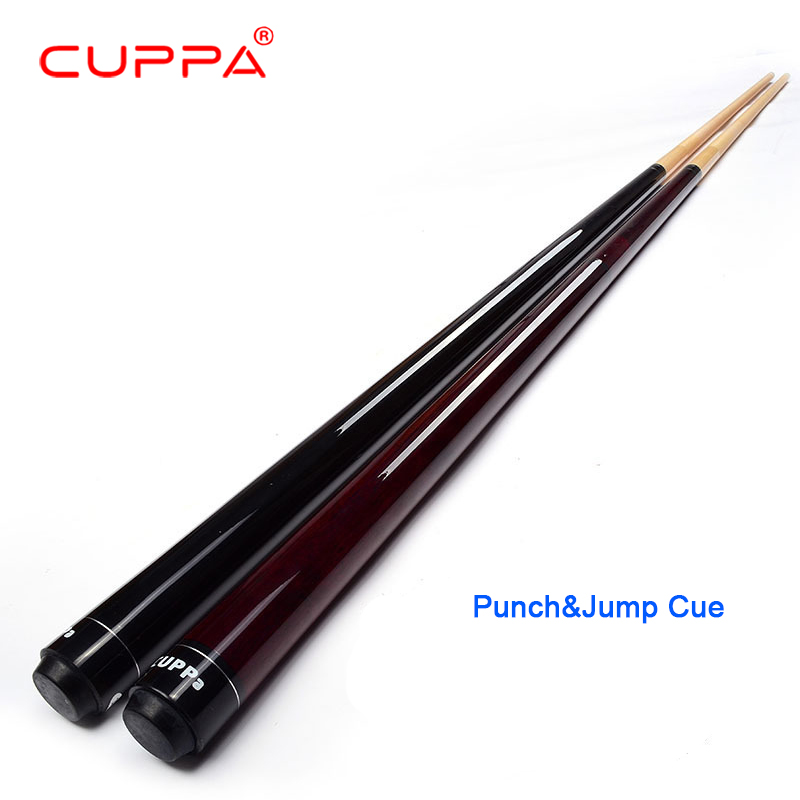 цены New Cuppa Punch&Jump Cue Punch&Jump Sticks 13mm Tips North American maple 5A+ Wood Cue Billiard Jump Cue Punch Stick