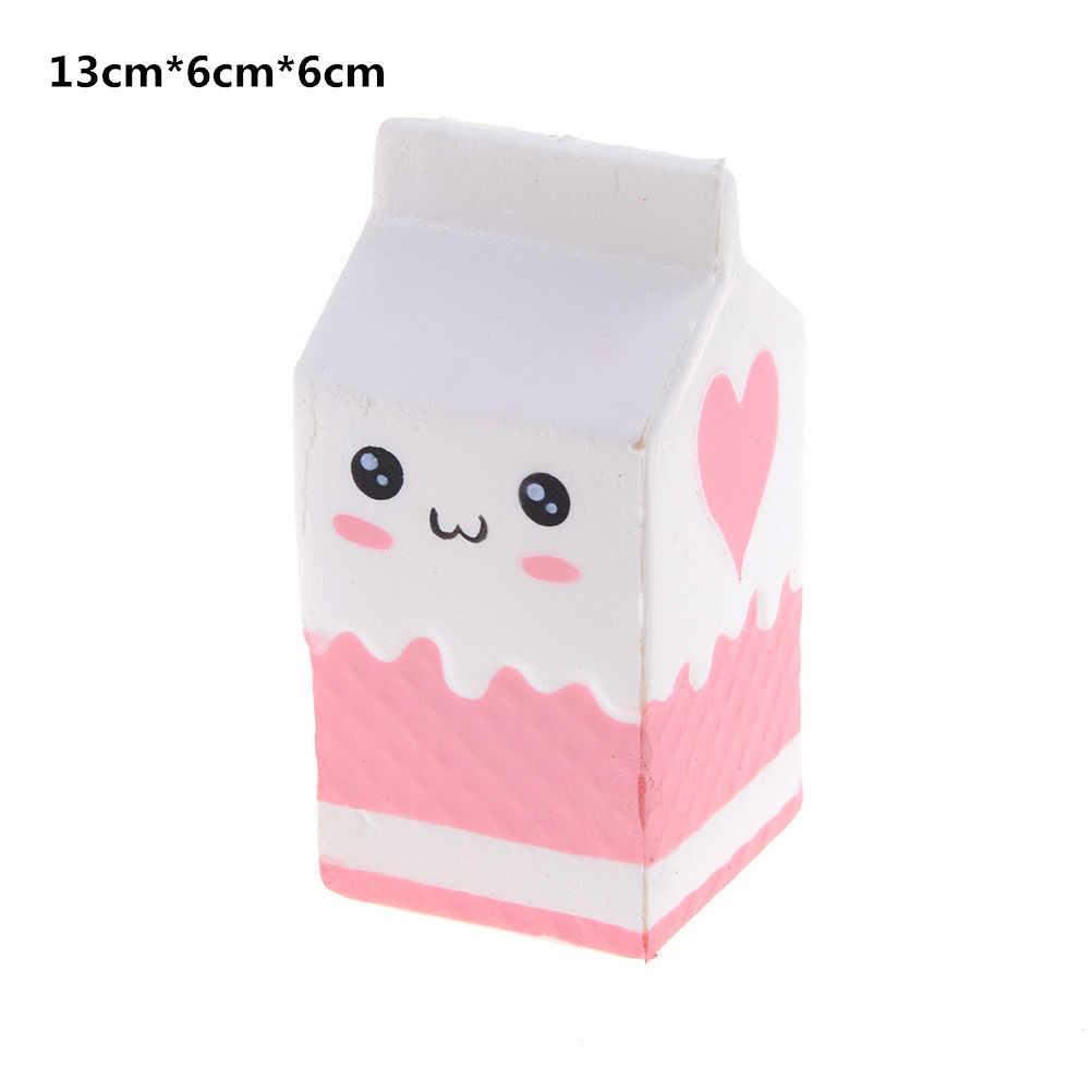 Anti-estrés lindo encanto blandita lento aumento unicornio aplasta Galaxy Panda de Squishi caca de plátano diente pastel de crema de la PU juguete Kawaii