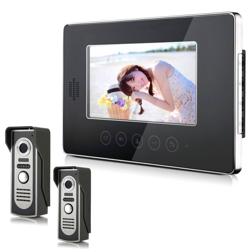 YobangSecurity Wired Video Door Phone Intercom 7\