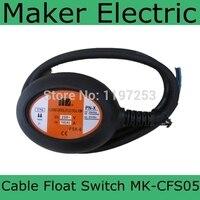 Preço barato, venda quente cabo float switches MK-CFS05 4 metro Preto Cabo Da Bomba de Água Interruptor de Bóia Controlador de Nível de Fluido AC 250 V