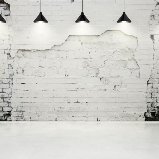 Buy free shipping white brick wall high for High end wallpaper