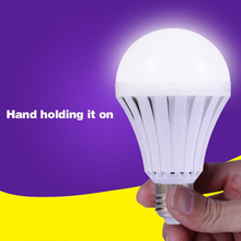 E27 LED Lamps 5W 7W 9W 12W 15W Emergency Light Bulb Rechargeable 220V @8 JDH99