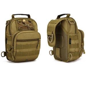 Image 3 - Norbinus 2018 männer Schulter Handtasche Military Brust Tasche Sling Pack Taktische Umhängetaschen für Männer Wasserdichte Nylon Gürtel Taschen
