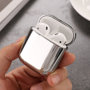 Image 3 - Color PC Earphone Case For Airpods 2 Air pods Transparent Hard PC Cases For AirPods Case Protective Cover Wireless Earphone Case
