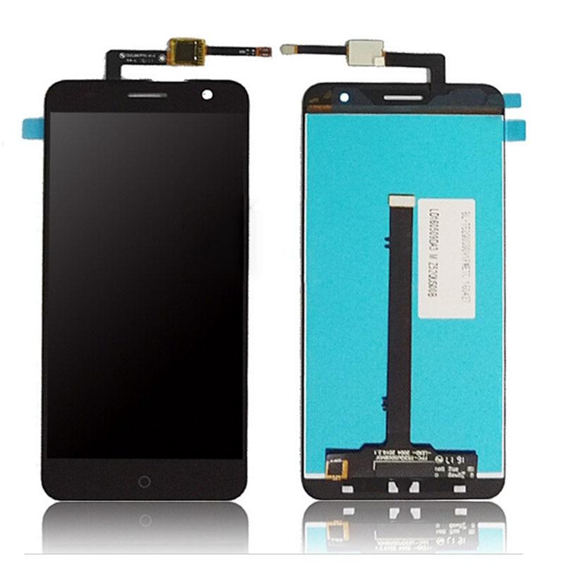 For ZTE Blade V7 Touch Screen 5 2 LCD Display Screen Digitizer Glass Sensor Panel Black