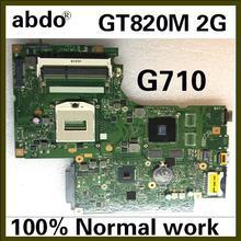 Abdo lenovo G710 DUMB02 MIAIN материнская плата для ноутбука PGA947 GT820M 2G HM87 DDR3 ТЕСТ ОК